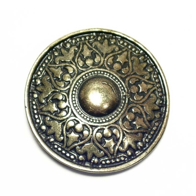 historical looking antique brass coloured buckle