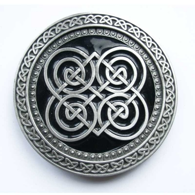 Buckle with celtic design, original Dragon Design