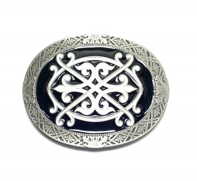 large oval buckle, original Dragon Design