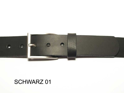 Belt with nickel satin finish buckle, nickel-free, 3.5cm wide