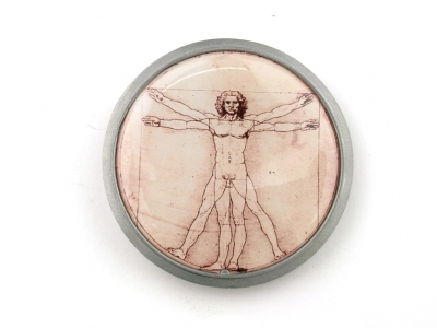 Leonardo da Vinci Gürtelschnalle