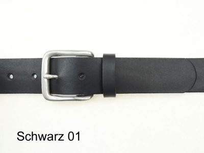Belt with nickel-free solid brass silver-plated buckle