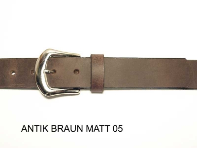 Belt with silver coloured buckle, 3cm wide