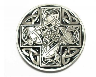 Gürtelschnalle original Dragon Design als keltisches Motiv