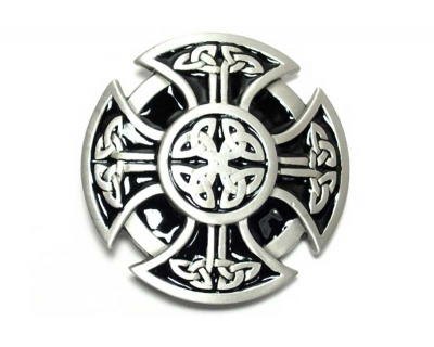 Celtic cross buckle,original Great American Buckle