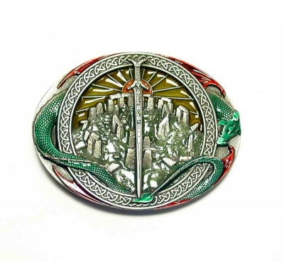 Stonehenge buckle, original Dragon Design