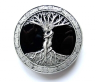 Celtic tree of life buckle, original Bergamot