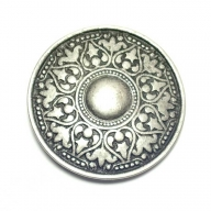 antique silver coloured, historical looking buckle