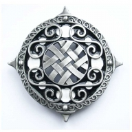 large celtic buckle, original Dragon Design