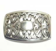 nickel-free silver plated buckle