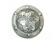 St. Justin buckle with celtic horses design