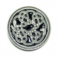 Original Dragon Design buckle with celtic snake design