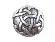 Celtic knot belt buckle, vintage style