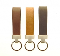 Elegant keyring available in black | brown | tan