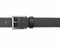 Ledergürtel mit Edelstahl Rollschnalle 3,5 cm Breite