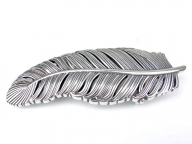 Feather belt buckle