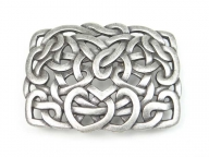 Celtic antique silver finish buckle